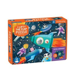 "Mudpuppy ""Blast Off!"" Lift-the-Flap 12 Piece Puzzle"