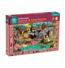 "Mudpuppy ""African Safari"" 64 Piece Search & Find Puzzle"