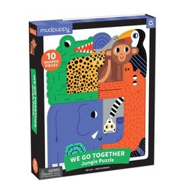 "Mudpuppy ""Jungle"" We Go Together Puzzle"