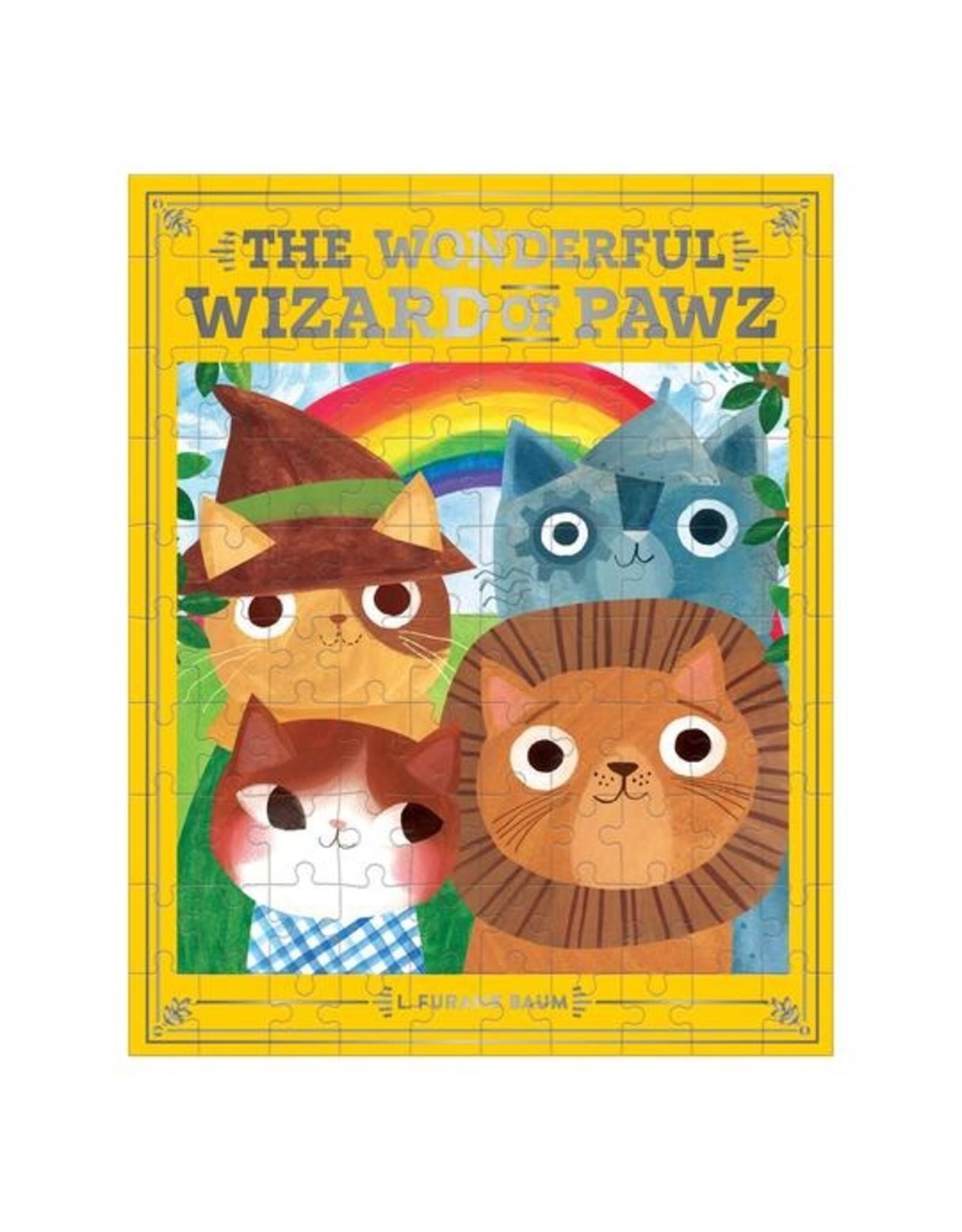 """Mudpuppy """"The Wonderful Wizard of Pawz"""" 100 Piece Puzzle"""