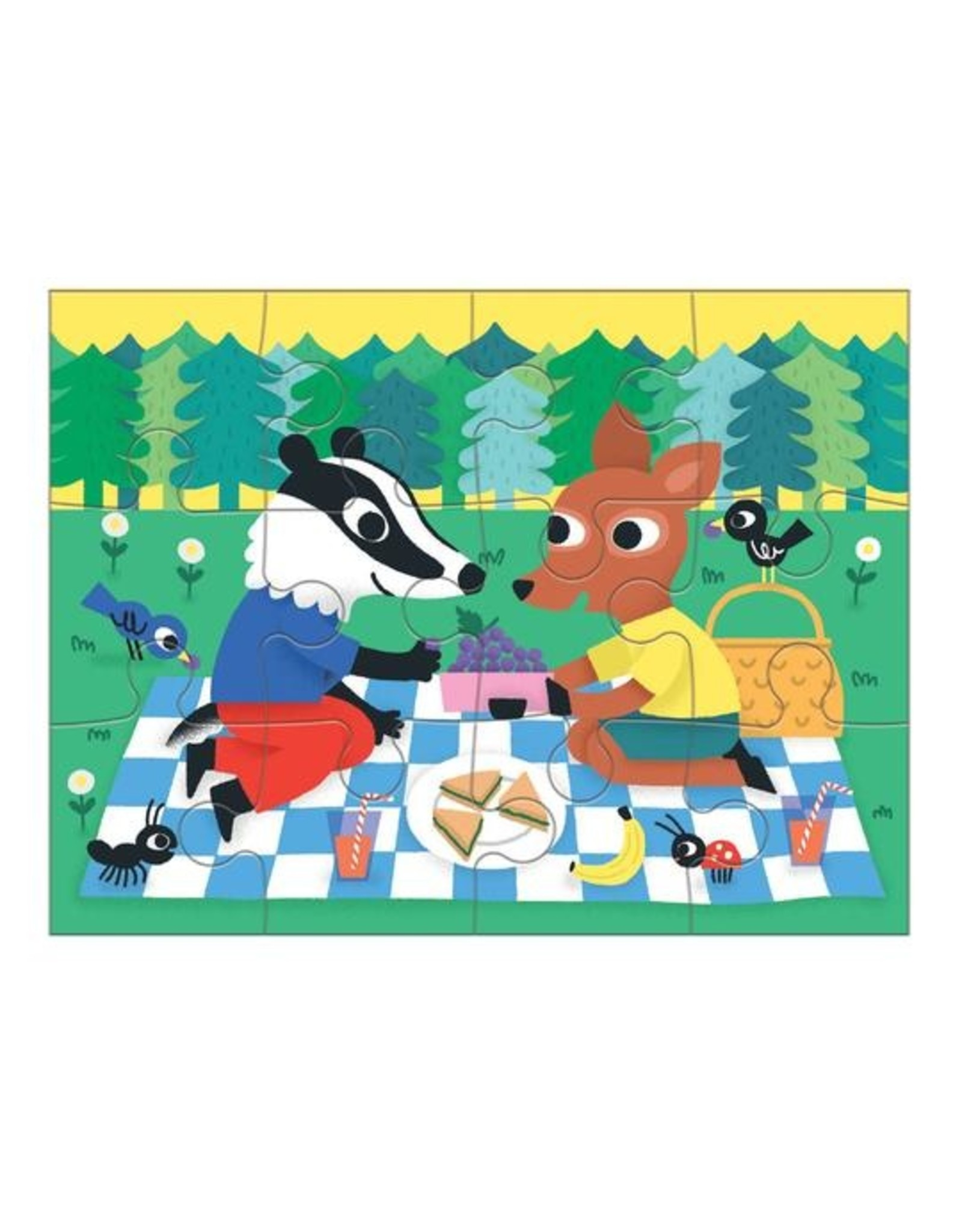 "Mudpuppy ""Kindness"" 4-in-a-box Puzzle Set"