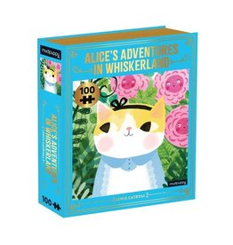 "Mudpuppy ""Alice's Adventures in Whiskerland"" 100 Piece Puzzle"