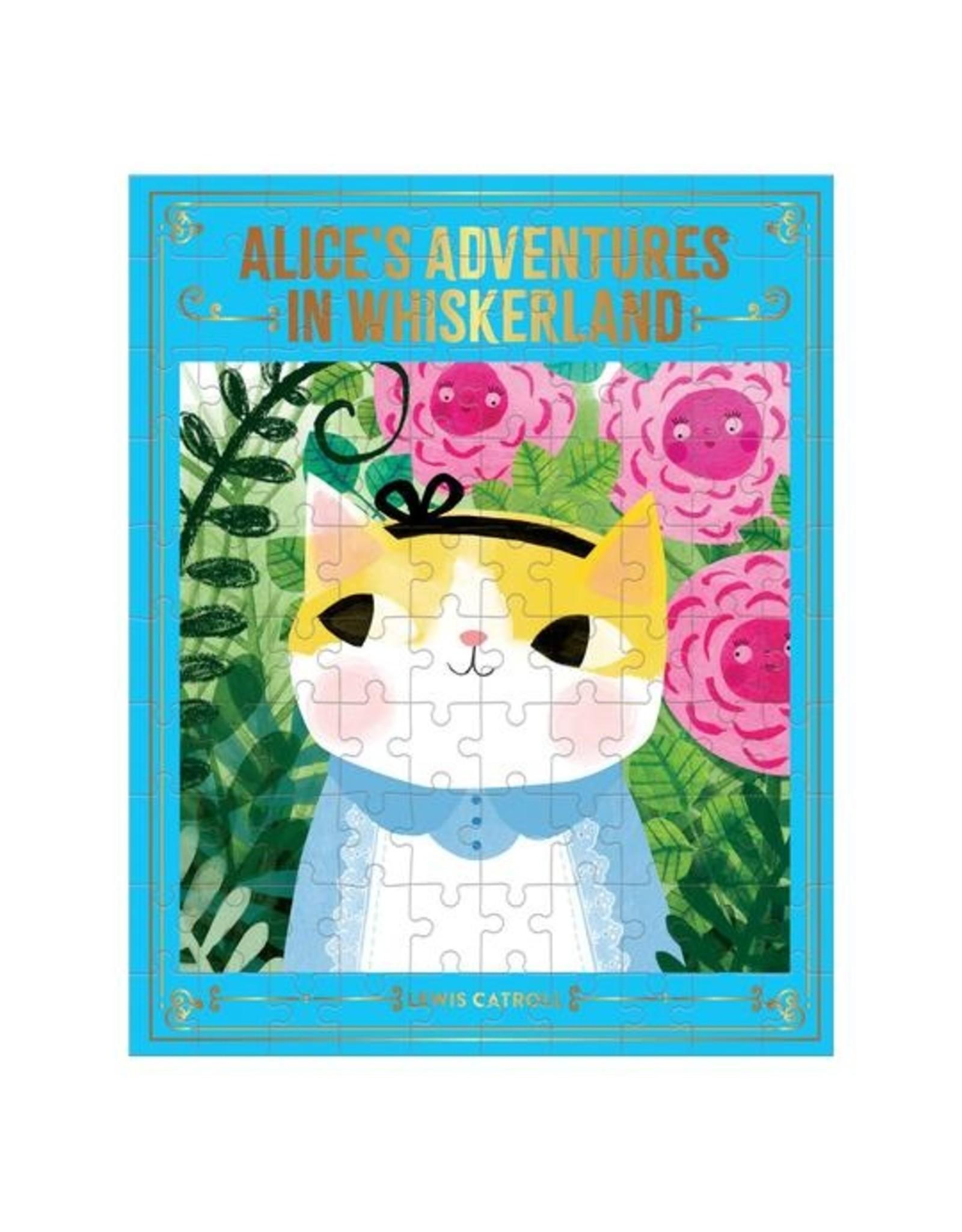 "Mudpuppy ""Alice's Adventures in Whiskerland"" 100 Piece Puzzle"