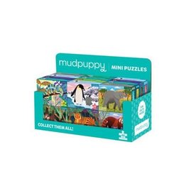 Mudpuppy Mini 48-Piece Animal Puzzles