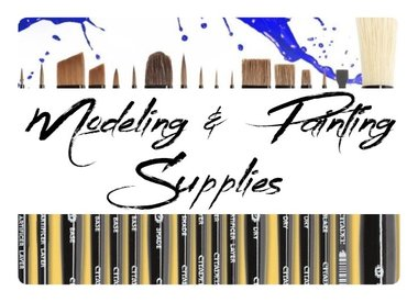 Modeling & Painting Supplies