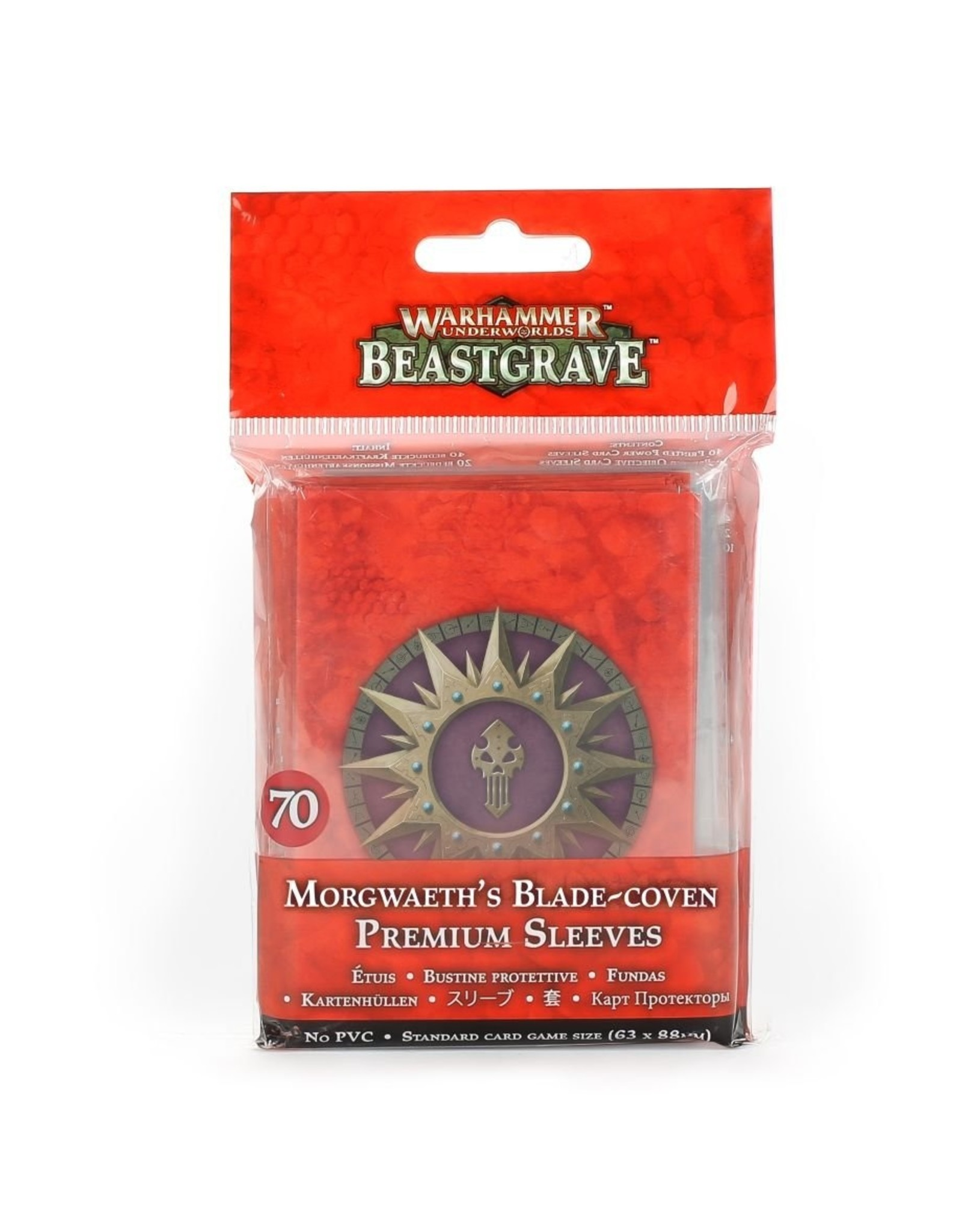 Games Workshop WH Underworlds: Morgwaeth's Blade-Coven Sleeves