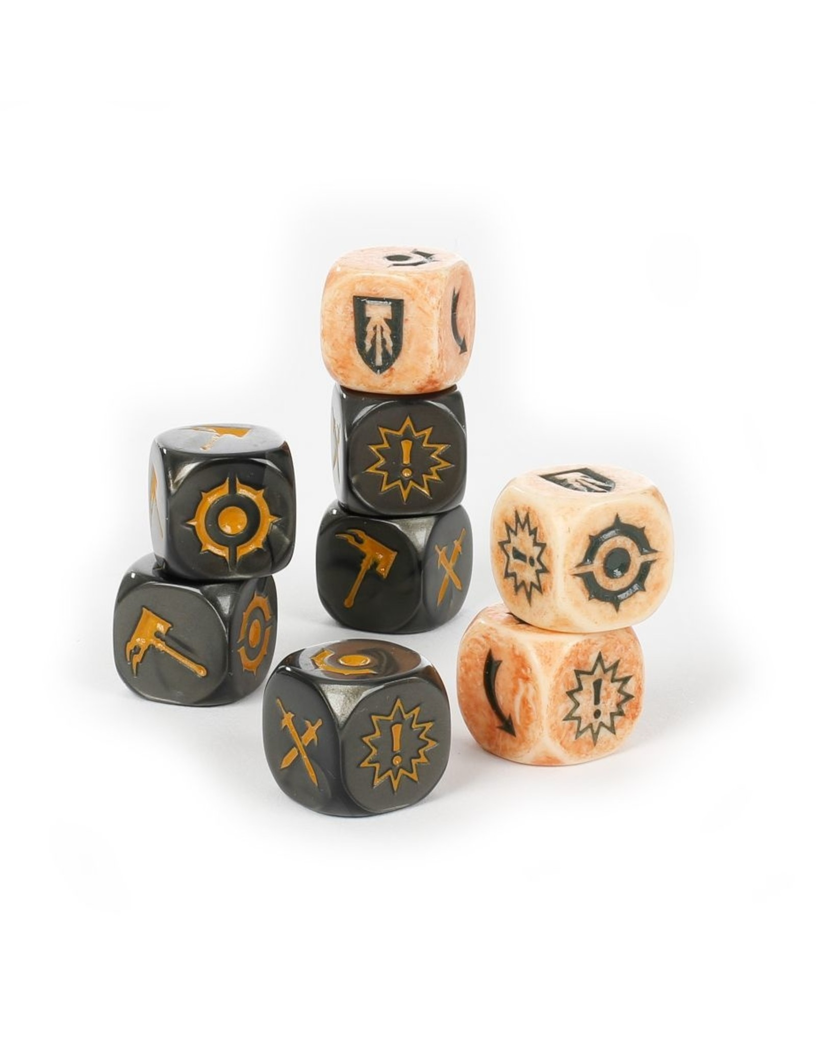 Games Workshop WH Underworlds: Morgok's Krushas Dice