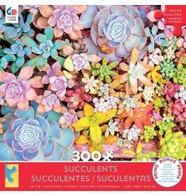 """Ceaco """"Succulents: Pretty Pastels"""" 300 Piece Puzzle"""