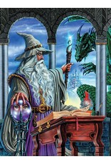 """Ceaco Fantasy Collection: """"Wizard's Emissary"""" 750 Piece Puzzle"""