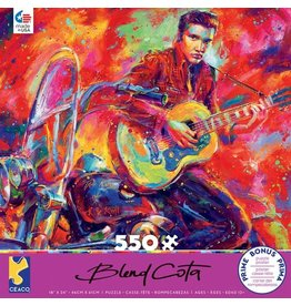 "Ceaco ""Rock and Roll"" 550 Piece Puzzle"