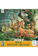 "Ceaco Wild Collection: ""Deer Family"" 1000 Piece Puzzle"