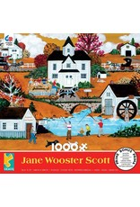 """Ceaco Jane Wooster Scott: """"Awesome Autumn"""" 1000 Piece Puzzle"""