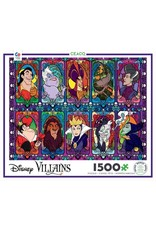 "Ceaco Disney: ""Villains in Glass"" 2000 Piece Puzzle"