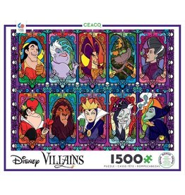 "Ceaco ""Villains in Glass"" 2000 Piece Puzzle"