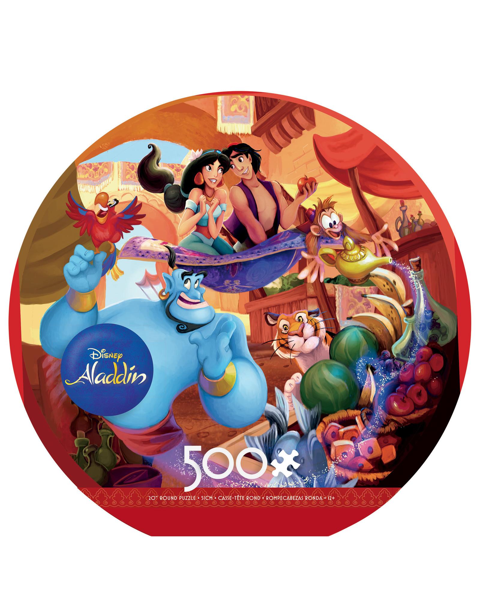 "Ceaco Disney: ""Aladdin"" 500 Piece Round Puzzle"