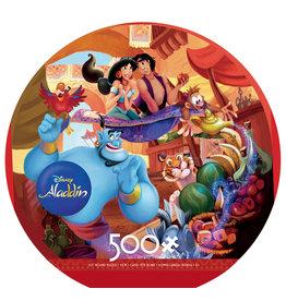 "Ceaco ""Aladdin"" 500 Piece Round Puzzle"