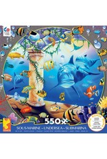 "Ceaco Undersea Collection: ""Hanging Gardens"" 550 Piece Puzzle"