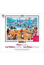 "Ceaco Paws & Claws Collection:  ""Beach Cats"" 300 Piece Puzzle"
