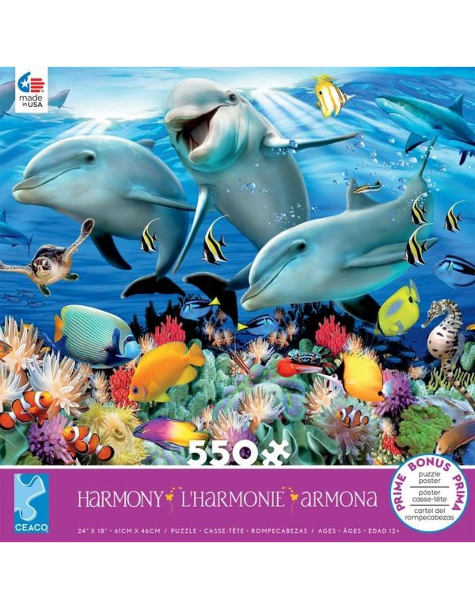 """Ceaco Harmony Collection: """"Ocean"""" 550 Piece Puzzle"""