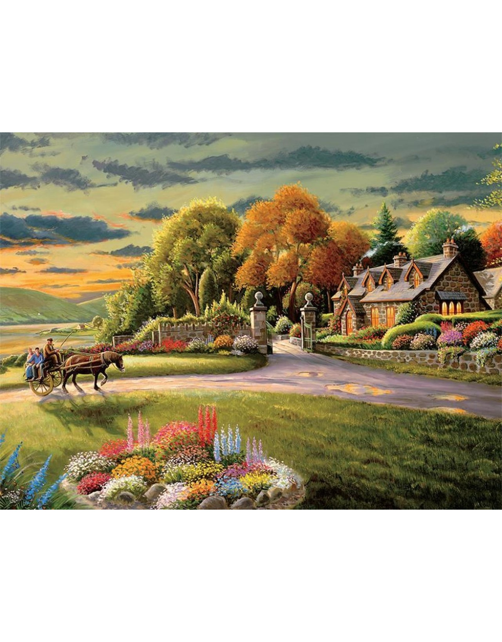 Ceaco Coming Home Collection: Hidden Harbor 750 Piece Puzzle