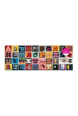 "Galison ""Needlepoint A to Z"" 1000 Piece Panoramic Puzzle"