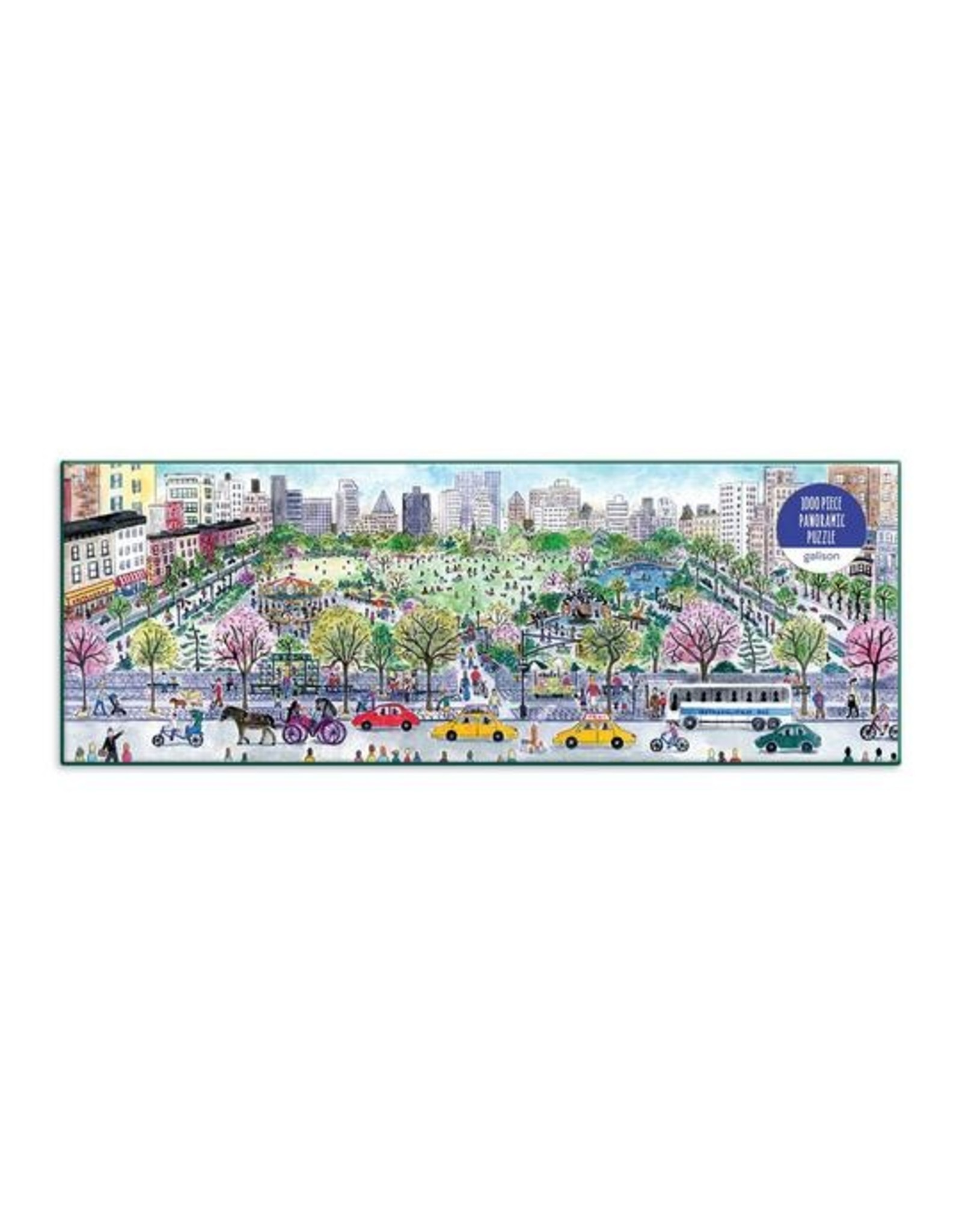 "Galison ""Cityscape"" 1000 Piece Panoramic Puzzle"
