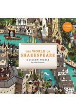 """Galison """"World of Shakespeare"""" 1000 Piece Puzzle"""