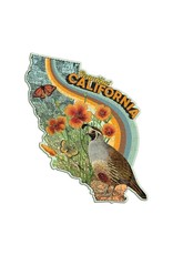 "Galison ""Beautiful California"" 100 Piece Mini Shaped Puzzle"