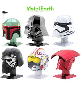 Metal Earth Metal Earth Star Wars Helmets