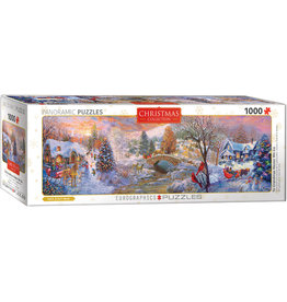 "Eurographics ""To Grandma's House We Go"" 1000 Piece Panoramic Puzzle"
