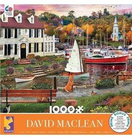 """Ceaco """"Seawall Walk"""" 1000 Piece Puzzle"""