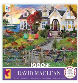 Ceaco David Maclean: Coastside Home - 1000 Piece Puzzle