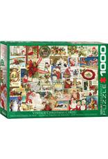 "Eurographics ""Vintage Christmas Cards"" 1000 Piece Puzzle"