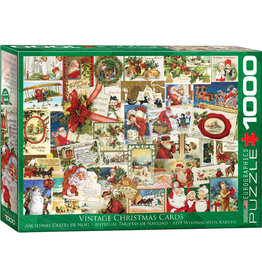 "Eurographics ""Vintage Christmas Cards"" 1000 Piece Puzzle"