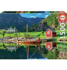 "Educa ""Viking Ship"" 1500 Piece Puzzle"