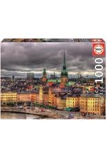 "Educa ""Views of Stockholm, Sweden"" 1000 Piece Puzzle"