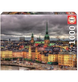 "Educa ""Views of Stockholm, Sweden"" 1000 Piece Puzzle"