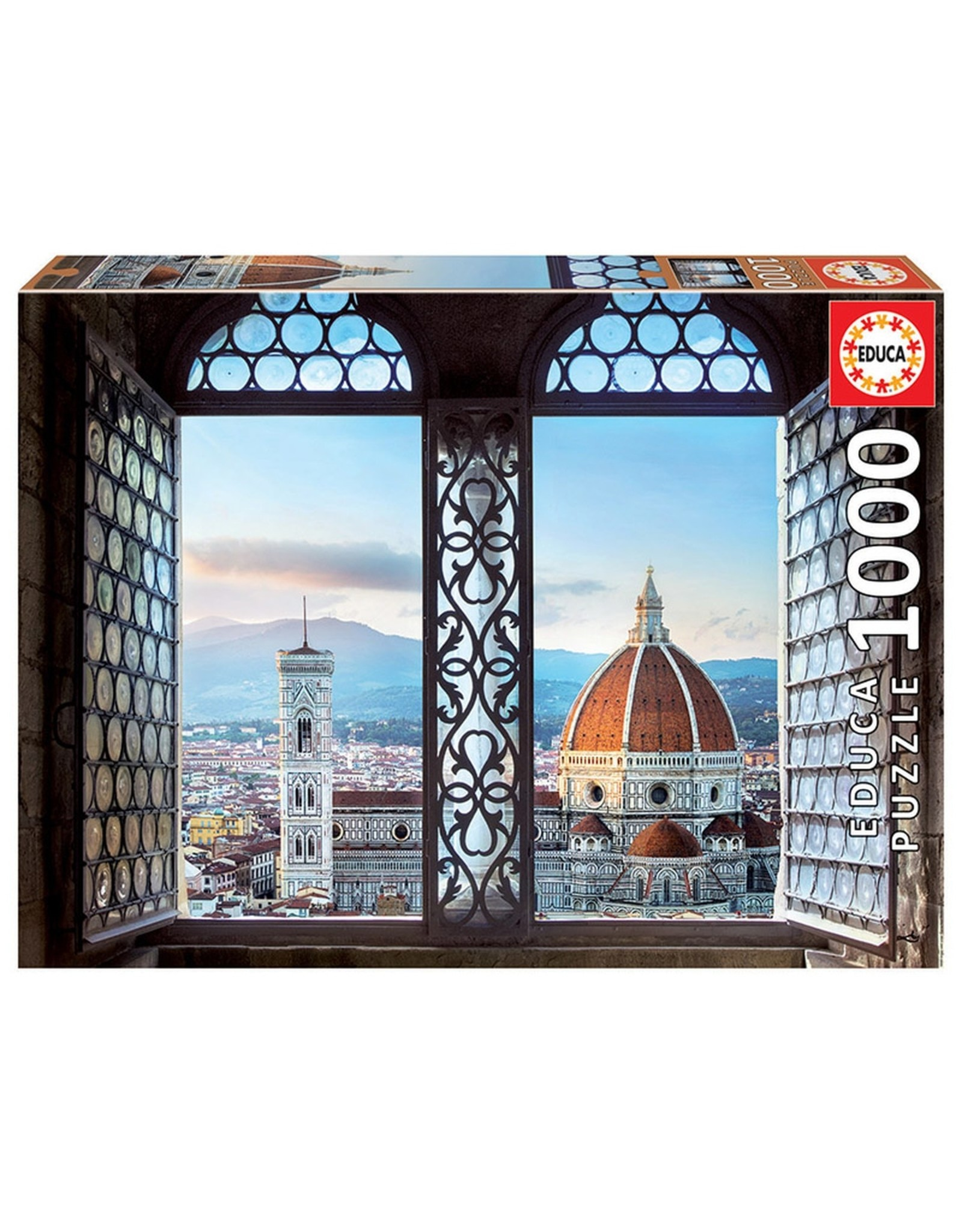 "Educa ""Views of Florence, Italy"" 1000 Piece Puzzle"