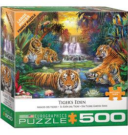 "Eurographics ""Tiger's Eden""  500 Piece Puzzle"