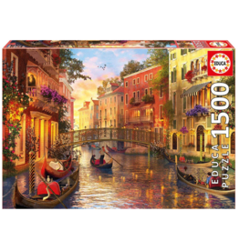 "Educa ""Sunset in Venice"" 1500 Piece Puzzle"