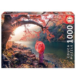 "Educa ""Sunrise in Katsura River, Japan"" 1000 Piece Puzzle"