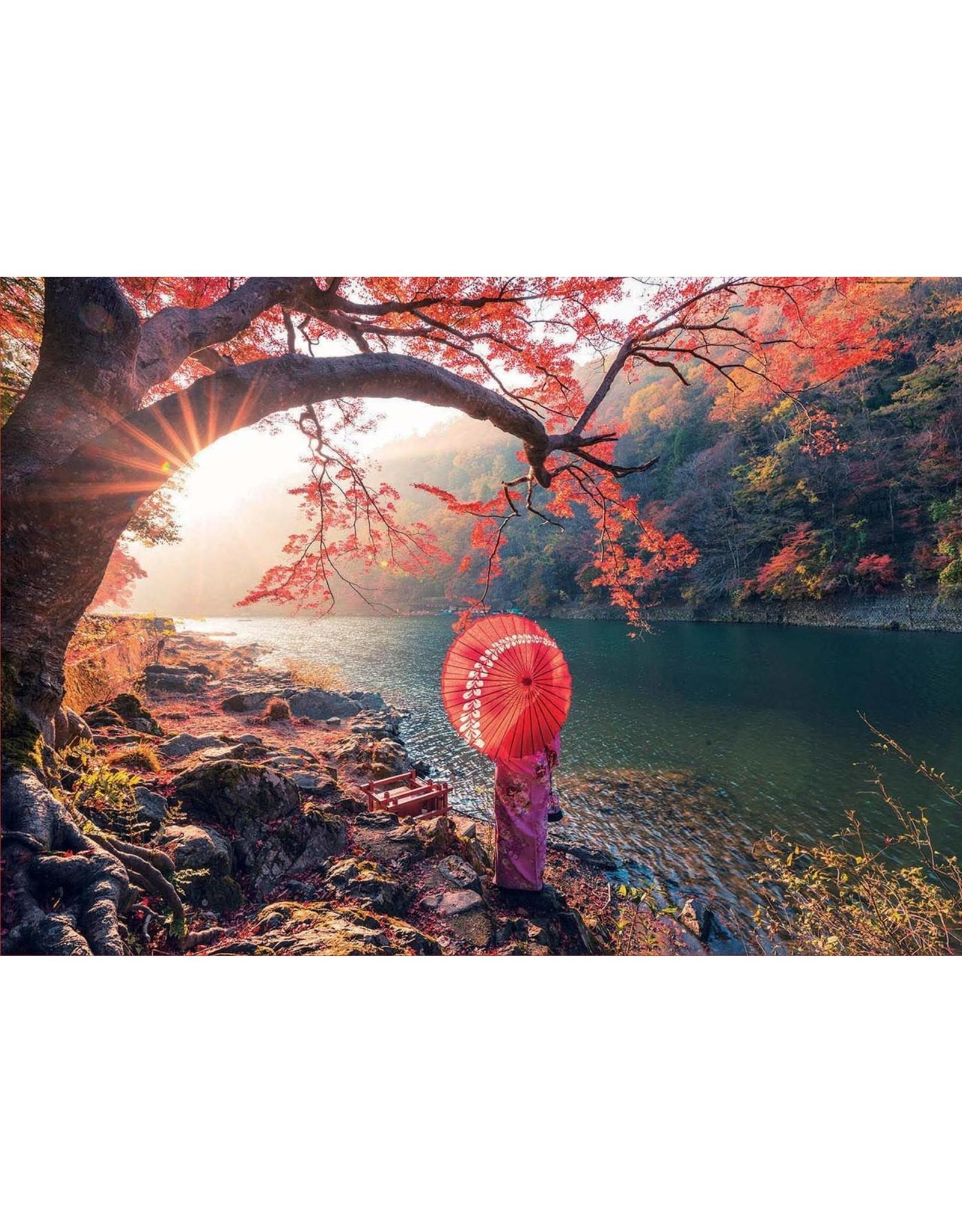 "Educa ""Sunrise in Katsura River, Japan"" 1000 Piece Puzzle"