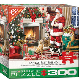 "Eurographics ""Santa's Best Friend"" 300 Piece Puzzle"