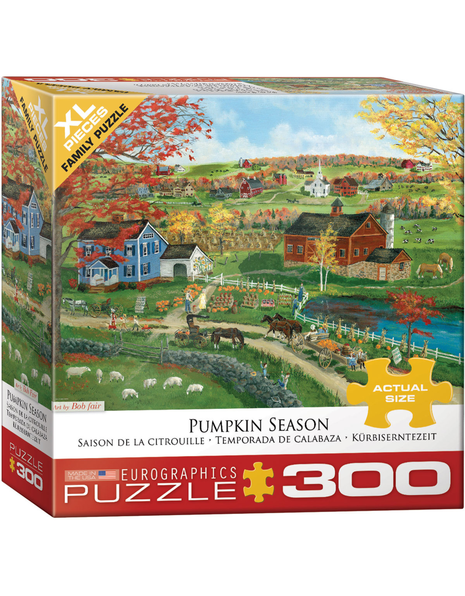"Eurographics ""Pumpkin Season"" 300 Piece Puzzle"