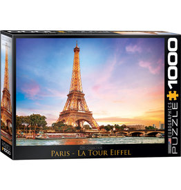"Eurographics ""Paris - La Tour Eiffel"" 1000 Piece Puzzle"