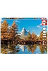"""Educa """"Matterhorn Mountain in Autumn"""" 1000 Piece Puzzle"""