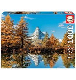 "Educa ""Matterhorn Mountain in Autumn"" 1000 Piece Puzzle"