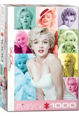 "Eurographics ""Marilyn Monroe Color Portraits"" 1000 Piece Puzzle"