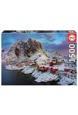"""Educa """"Lofoten Islands, Norway"""" 1500 Piece Puzzle"""