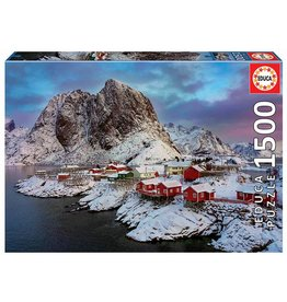 "Educa ""Lofoten Islands, Norway"" 1500 Piece Puzzle"